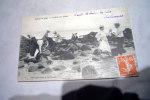 Scènes De Plage La Pêche Aux Crabes (animée-région De Saint Brévin Les Pins 44) - Pêche