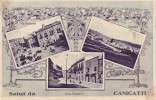 Canicattì(Agrigento)-Saluti-1928 - Agrigento