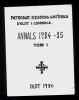 Annals 1984-1985 Del Patronat D´Estudis Històrics D´Olot I Comarca. Tom I. (història Local) - Livres, BD, Revues