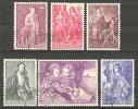 Belgique N° 1307 à 1312 Obl. - Belgium