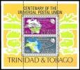 (005) Trinidad + Tobago  UPU 1974 Sheet / Bf / Bloc  ** / Mnh  Michel BL 12 - Trinidad & Tobago (1962-...)