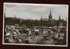 Cpa Carte Photo Angleterre Leeds  City Square And War Memorial , Leeds LEM19 - Leeds