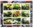 KYRGYZSTAN 2000 .HOJA BLOQUE  DE AUTOMOVILES .NUEVA SIN CHARNELA - Cars
