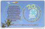 MICRONESIA - Remote Memory 5$ Card , 20th Anniversary Of JICA, Used - Micronésie