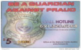 MICRONESIA - Remote Memory 5$ Card , Guardian Against Fraud, Used - Micronésie