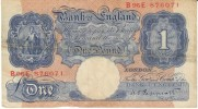 Great Britain #367, 1 Pound, 1940-48 Banknote Currency - …-1952 : Voor Elizabeth II