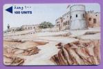 Télécarte Bahrein °° 100 U   .Tour  Et  Remparts   *  22BAHA  *   T  B  E - Bahreïn