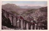 Thematiques Hautes Pyrenees Lourdes Le Grand Viaduc Du Funiculaire Et La Vallee D´argeles - Lourdes