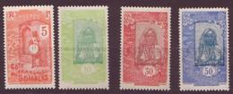 Côte Des Somalis N°103 à 107**  SAUF LE N° 105, Neuf Sans Charniere - Côte Française Des Somalis (1894-1967)