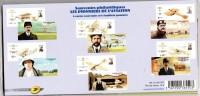 FRANCE  6 Blocs Souvenir N° 49 à 54 DE 2010 PIONNIERS DE L´AVIATION NEUFS** SOUS BLISTER NON OUVERT. - Blocs & Feuillets