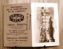 CALENDRIER DE POCHE CORSE BASTIA 1939 GRAINS DE VALS LAXATIF LABORATOIRES NOGUES  PARIS SCAN R/V - Calendriers