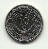 2004 - Antille Olandesi 10 Cents, - Antille Olandesi