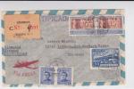 URUGUAY - 1949 - ENVELOPPE Par AVION RECOMMANDEE De MONTEVIDEO Pour LIMBACH (GERMANY US ZONE) - Uruguay