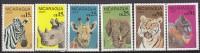 PGL AA0170 - NICARAGUA AERIENNE Yv N°1152/57 ** ANIMAUX ANIMALS - Nicaragua