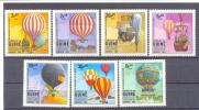 1983. Guinea-Bissau,  Dirigables, 7v Mint/** - Guinea-Bissau