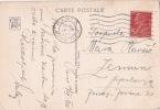 1928 N° 243 BERTHELOT SEUL Sur CP Etranger Pour La YOUGOSLAVIE  BONNE DESTINATION !! - Francia