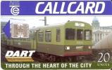 TARJETA DE IRLANDA DE UN TREN (TRAIN-ZUG) CALLCARD - Treinen