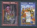 VEND TIMBRES DU RWANDA N° 1334 - 1335 - 1990-99: Oblitérés