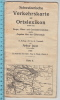 1924 Schweizerische Verkehrskarte Mit Ortslexikon - Karte II - Cartes Géographiques