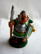 RARE FIGURINE ASTERIX HOBBY PRODUCTS 1990 PEINTE A LA MAIN LEGIONNAIRE GROS PILUM - Asterix & Obelix