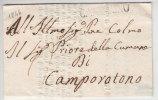 DA CAMERINO A CAMPOROTONDO UNIVERSITA' DEGLI STUDI 20 AGOSTO 1845 - 1. ...-1850 Prefilatelia
