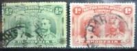 A5453 - British South Africa Company - Rhodesia - 1910 - Sc. 101-102 - Grande-Bretagne (ex-colonies & Protectorats)