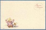 CPA DESSIN ILLUSTRATEUR A BERTIGLIA PAQUES  ** ARTIST SIGNED DRAWN EASTER CARD A BERIGLIA - Bertiglia, A.