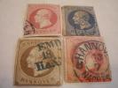 HANOVER, SCOTT#19, 20,23, & 27, USED - Hanover