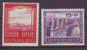 DR/ Österreich 1941, ANK 804- 805, Wiener Messe, Postfrisch ** - 1918-1945 1. Republik