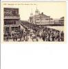 Boardwalk And Steel Pier Atlantic City New Jersey Coca Cola Billboard 1910 - Atlantic City