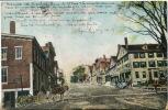 Richmond Maine Main Street From Front Street  P. U. 1907 No 7642 - United States