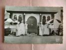 CPSM BOU-SAADA  N°110  L ENTREE DE L HOTEL TRANSATLANTIQUE - Algérie