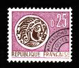 Preo  126  -  Monnaie Gauloise  25c  - NEUF**  - Cote 0.50 - 1964-1988