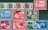N° 955-966 XX - 1954/1955 - Ungebraucht