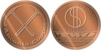 Copper Cobre Cuivre Round 2010 Stati Uniti - Medaglia Da Un Oncia Once In Rame D´ANCONIA COPPER Proof - Etats-Unis