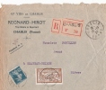 YONNE Chablis Env REC 1921 - Postmark Collection (Covers)