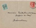 VOSGES Gerardmer  No147  Taxé No 137 - Postmark Collection (Covers)