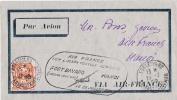 INDOCHINE FORT BAYARD(kouang Tche Wan) Pour HANOI 1939 - Unclassified