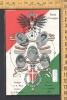 REALE FAMIGLIA OMAGGIO A S.A.REALE UMBERTO PRINCIPE DI PIEMONTE RACCONIGI 1904 VITTORIO EMANUELE RILIEVO STEMMI - Familles Royales