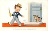 Carte Illustrateur Jim PAT  - Enfants / Kinderen / Child -1937 - Kinder