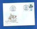 FRANCE ALSACE 2003 N° 127 SERVICE ENVELOPPE  CONSEIL DE L EUROPE TOMI UNGERER  18 / 10 / 2003 STRASBOURG - Lettres & Documents