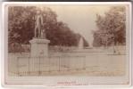 PHOTO   MONTPELLIER  ESPLANADE ET STATUE D´EDOUARD ADAM (fin XIXe Siècle) - Montpellier
