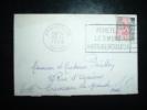 LETTRE MIGNONNETTE TYPE MARIANNE A LA NEF 25 F OBL. MECANIQUE 10-12-1959 AMIENS GARE (80 SOMME) - Railway Post
