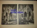 L´ARCHITECTURE - 1931 - PARAY-LE-MONIAL (Saône-et-Loire  ) L´Église - Le Transept Et Le Choeur-La Nef  -Vue Intérieure - Architecture
