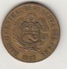Pièce Du Pérou - Un Sol - 1967 - Peru