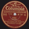78 Tours - Columbia BF 157 - Orchestre Argentin JOSE GRANADOS - ROSIO - PALABRAS - 78 Rpm - Schellackplatten