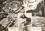 Le Vieux LYON - Vestiges De L'ancienne Cité Romaine De Lugdunum - Multivues (pli Transversal à Droite) - Lyon