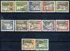 "1962 Berlin Complete Set Of 12 Stamps VF Used "" Old Berlin"" Michel 218-229 - [5] Berlin"
