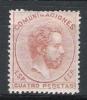 01423 España Edifil 128  * Cat. Eur.  800,- - 1872-73 Regno: Amedeo I