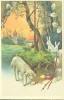 Illustration:PASEN/PÂQUES/EASTER –Style Art Nouveau - Reproduction D'une Carte Ancienne- Nieuwe Postk./Carte Post. Neuve - Pâques